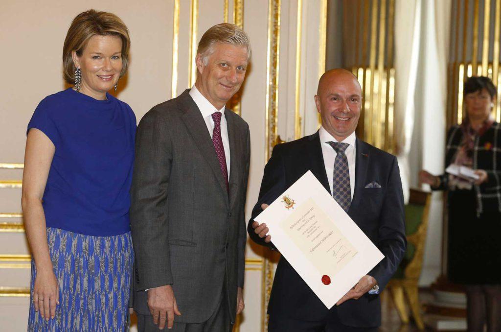 VPS International ontvangt Brevet Hofleverancier België