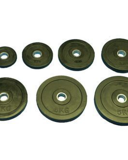 Rubber barbell Discs Dia 30mm