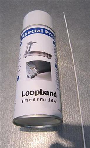 smering loopband, onderhoud loopband