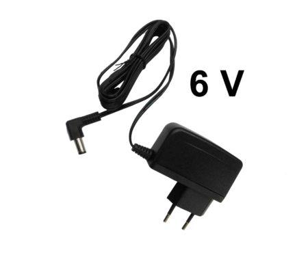 adapter, voeding, 6volt, 6V