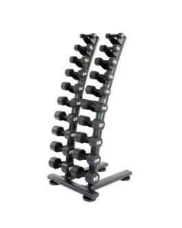 Serie Dumbbells 1-10 Kg PU Coating with Rack